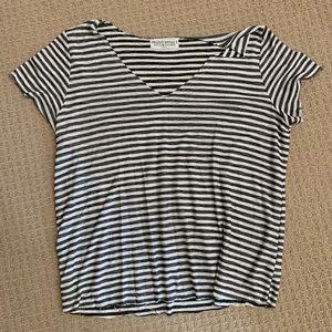 Project Social T striped t-shirt